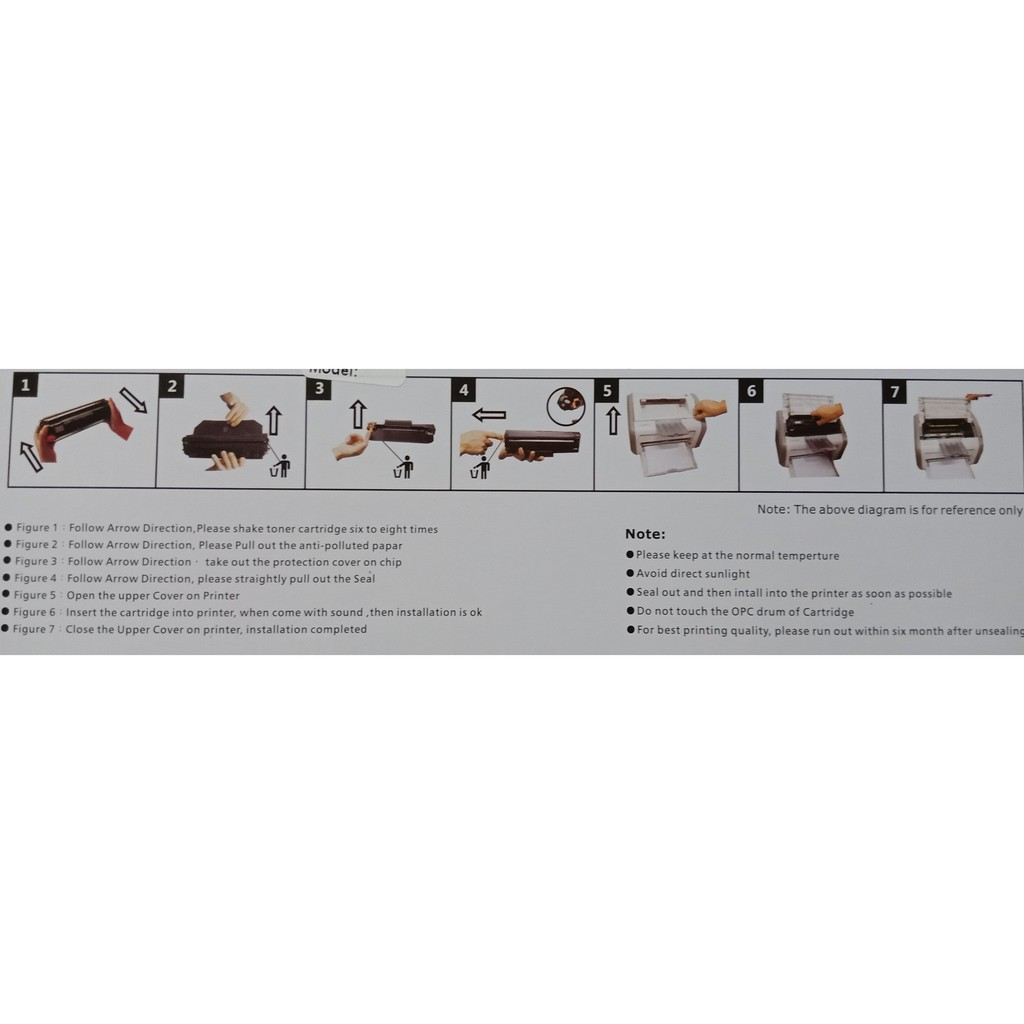 hight resolution of compatible toner cartridge 285a crg325 grg312