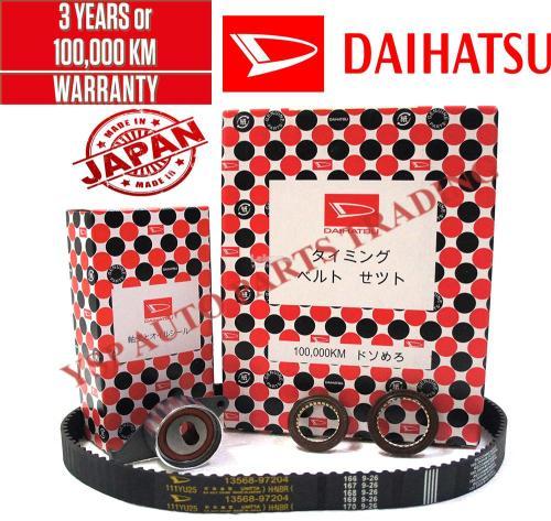 small resolution of daihatsu 100 000km timing belt component set kancil 850 ezi injection