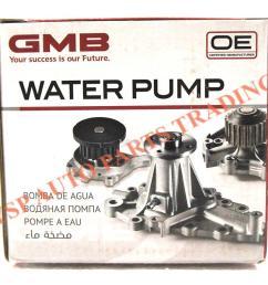 daihatsu 100k timing belt water pump belting set kelisa kenari [ 1000 x 884 Pixel ]