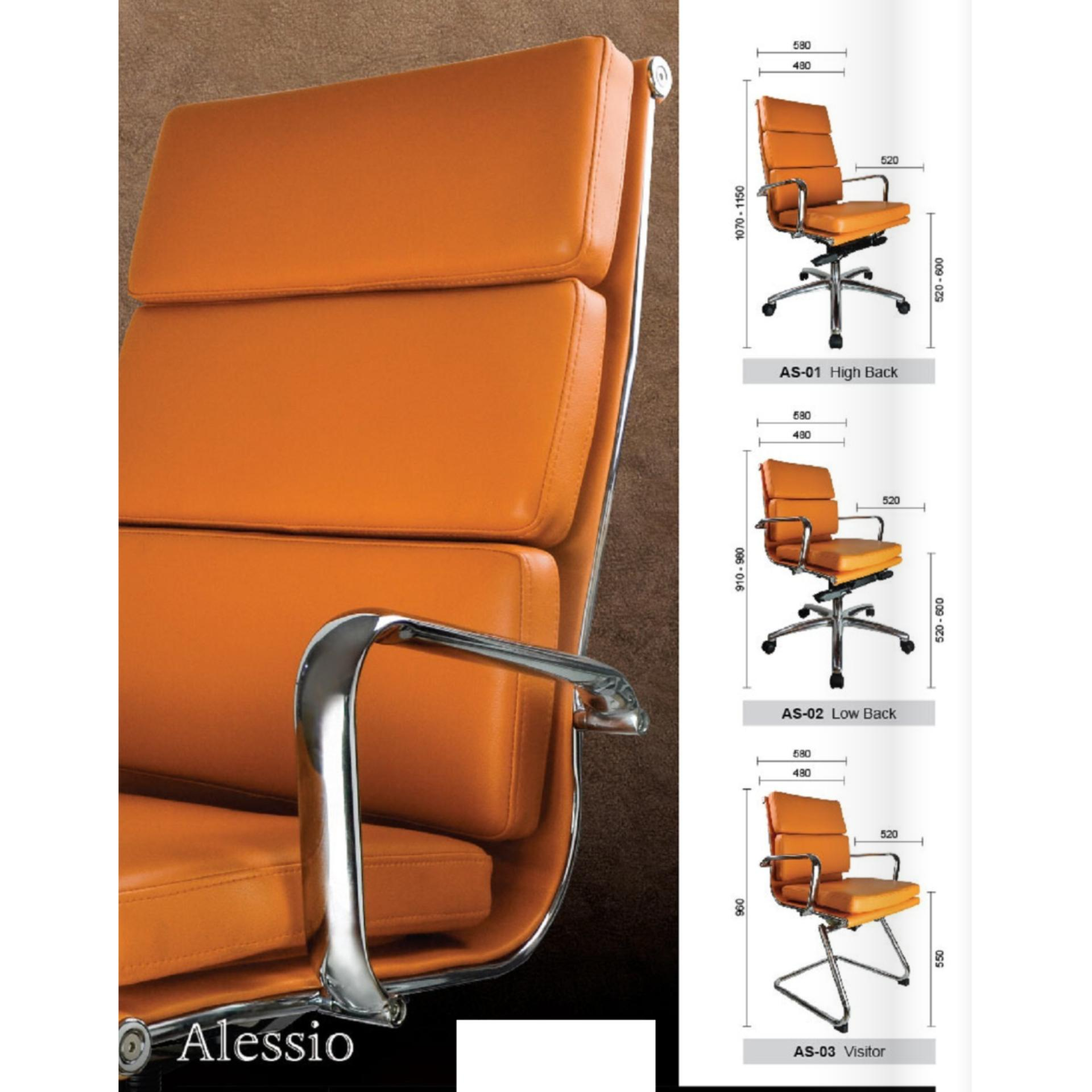 Orange Office Chairs Deco Alessio Office Chairs Leather Executive Medium Back Computer Desk