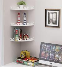 DIY Corner Storage Rack Wall Shelf (end 5/17/2019 10:15 AM)