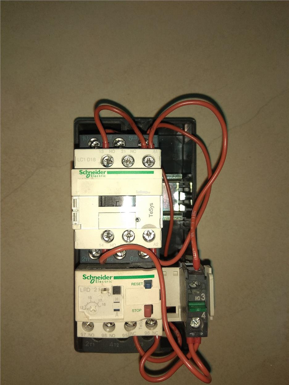 Lc1d18 Contactor Wiring Diagram