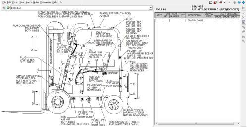 small resolution of doosan daewoo forklift trucks spare parts catalog