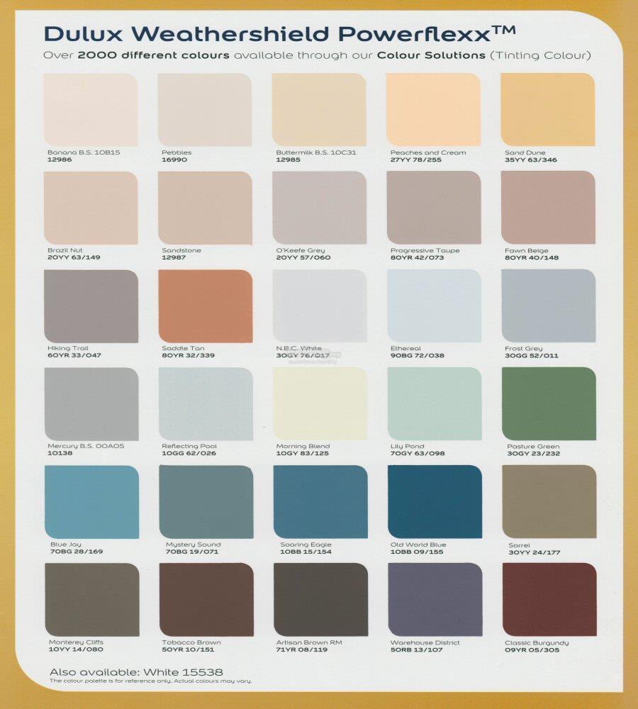 100 Exterior Dulux Paint Colours Choosing House