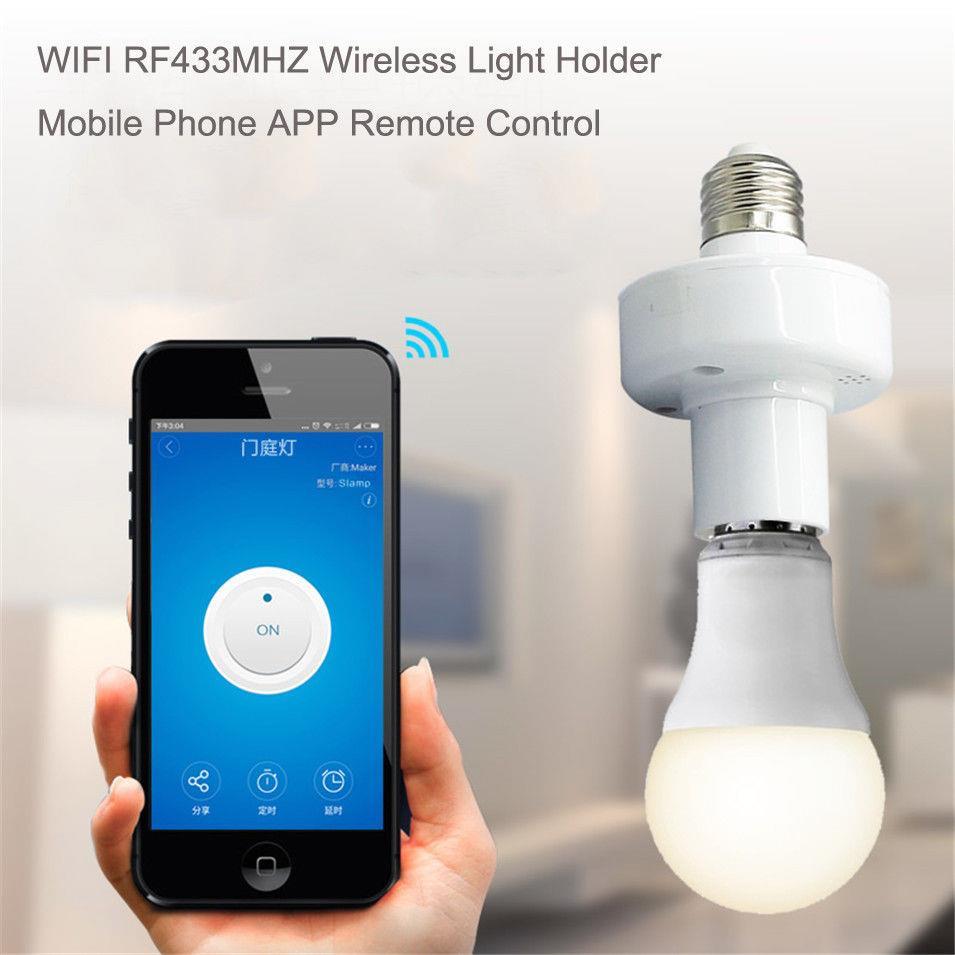 Remote Light Bulb Socket