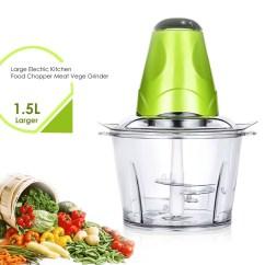 Electric Grinder Kitchen Aid Cabinets 1 5l Large Food Cho End 6 2021 12 00 Am Chopper Meat Vege Blender