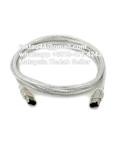 Firewire 400 6 to 6 Pin Male IEEE 13 (end 9/15/2020 2:21 PM)