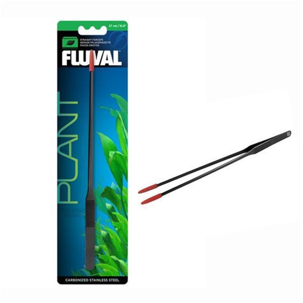 Fluval Straight Forceps Carbonized Black SS 27cm