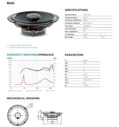focal integration universal icu 165 2 way coaxial car speakers [ 1240 x 1754 Pixel ]