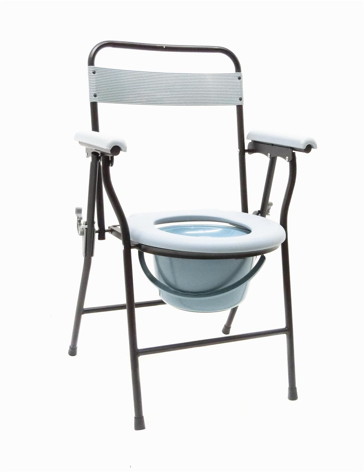 Folding Commode Chair Folding Commode Chair With Backrest End 7 31 2017 7 15 Pm