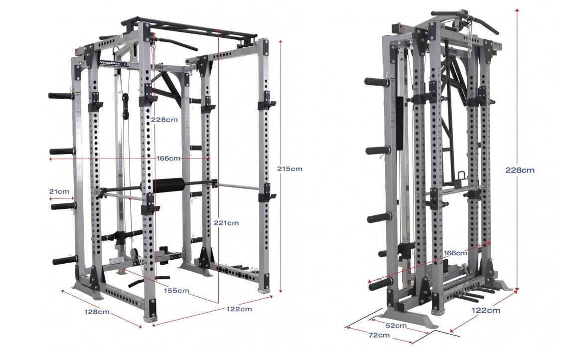 Force Monster Multifunction Foldable Smith Machine Home