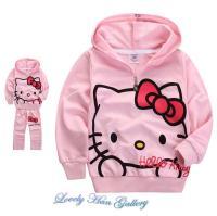 Hello Kitty Kids Girl Pink Hoodie J (end 1/22/2016 10:15 AM)