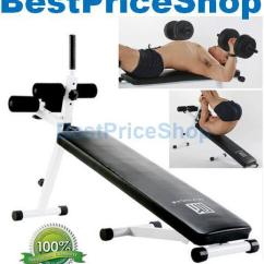 Gym Bench Press Chair Navy Wingback Slipcover High Grade Sit Up Dumbbell Workou End 9 2 2020 6 33 Pm
