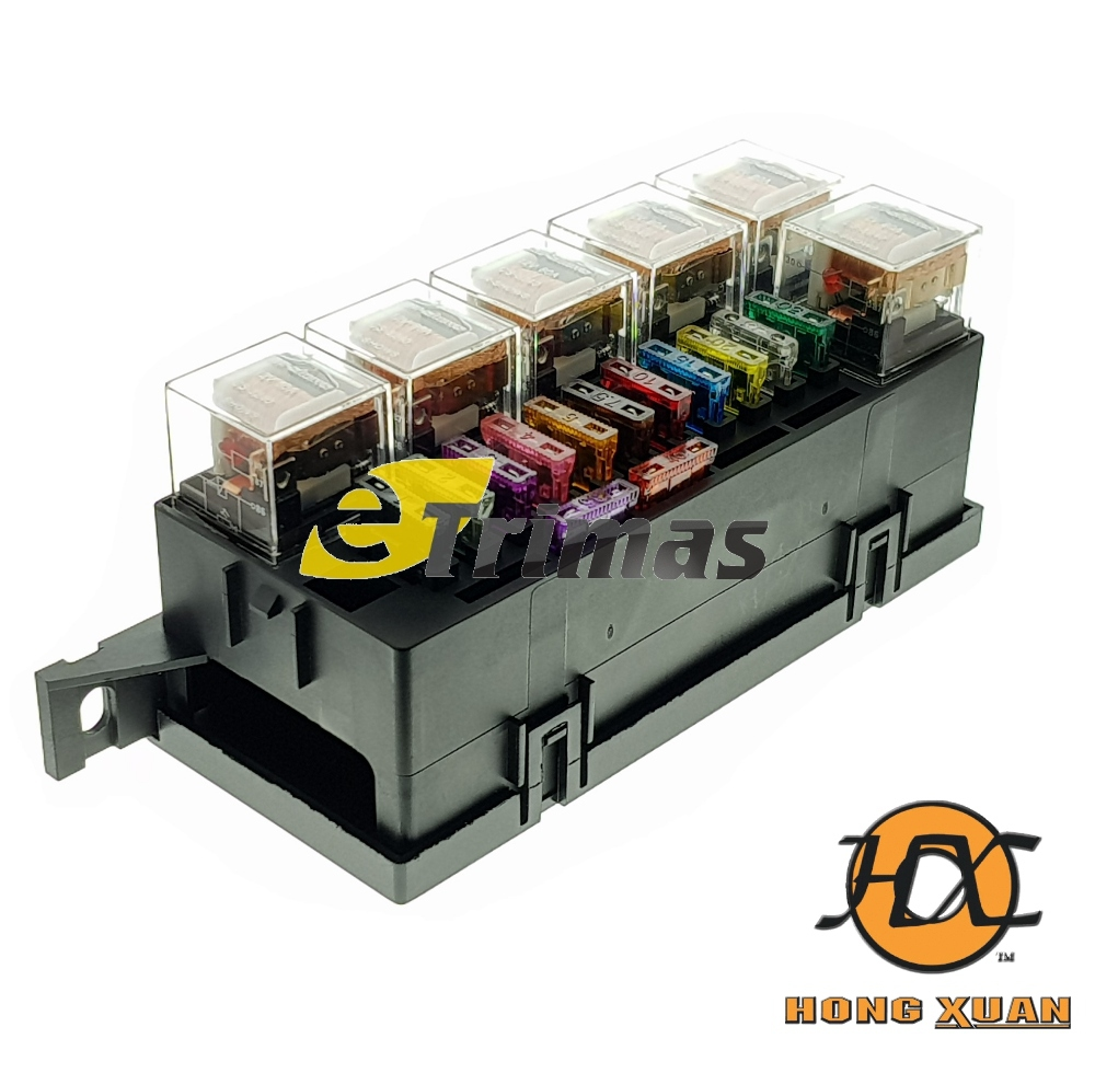 hight resolution of honda nissan mazda mitsubishi universal modify car blade fuse box relay block