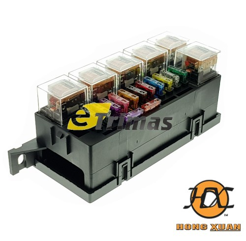 small resolution of honda nissan mazda mitsubishi universal modify car blade fuse box relay block