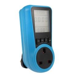 household power meter measuring outlet socket  [ 1000 x 1000 Pixel ]
