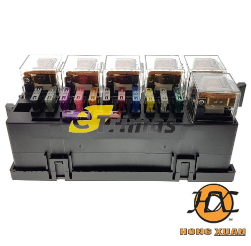 small resolution of isuzu ford hino fuso universal modify car blade fuse box relay block