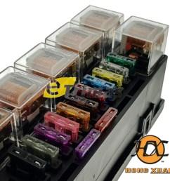 isuzu ford hino fuso universal modify car blade fuse box relay block [ 1000 x 980 Pixel ]