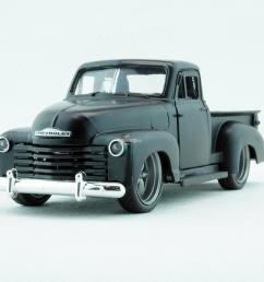 jada 1953 chevy pickup black 1 32 1 32 fresh ride nouveau look metal  [ 1200 x 900 Pixel ]