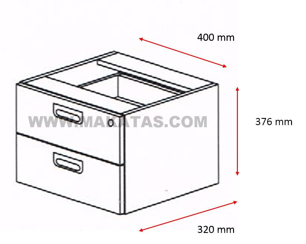 Laci Mudah Alih 2 Drawer Office Furn End 1 22 4 15 Pm