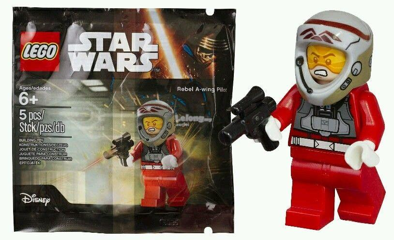 Lego Star Wars 5004408 Rebel A Wing Pilot Polybag New And Sealed
