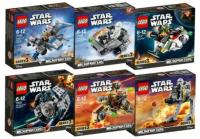 LEGO Star Wars Complete 6 Microfight (end 3/31/2020 9:15 PM)
