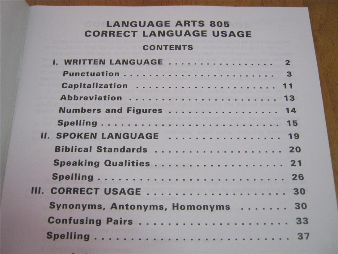 Lifepac 8th Grade Language Arts Unit End 3 9 8 15 Am