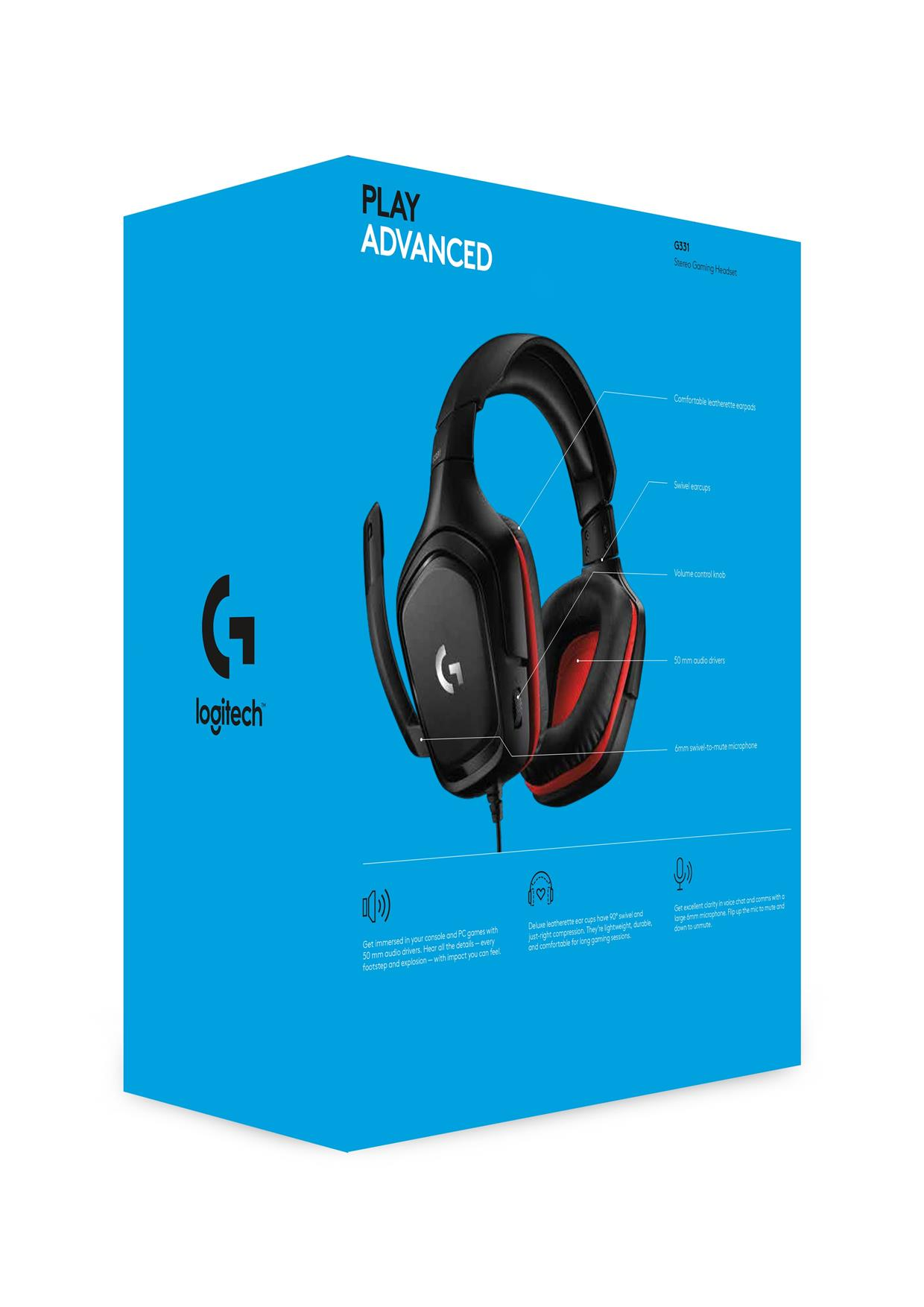 Logitech G331 Stereo Gaming Headset End 8 29 2020 4 15 Pm