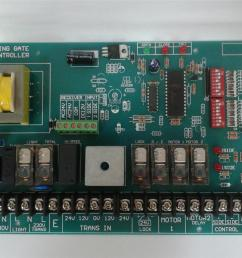 m808 autogate swing control board pcb panel automatic gate auto  [ 1536 x 1152 Pixel ]
