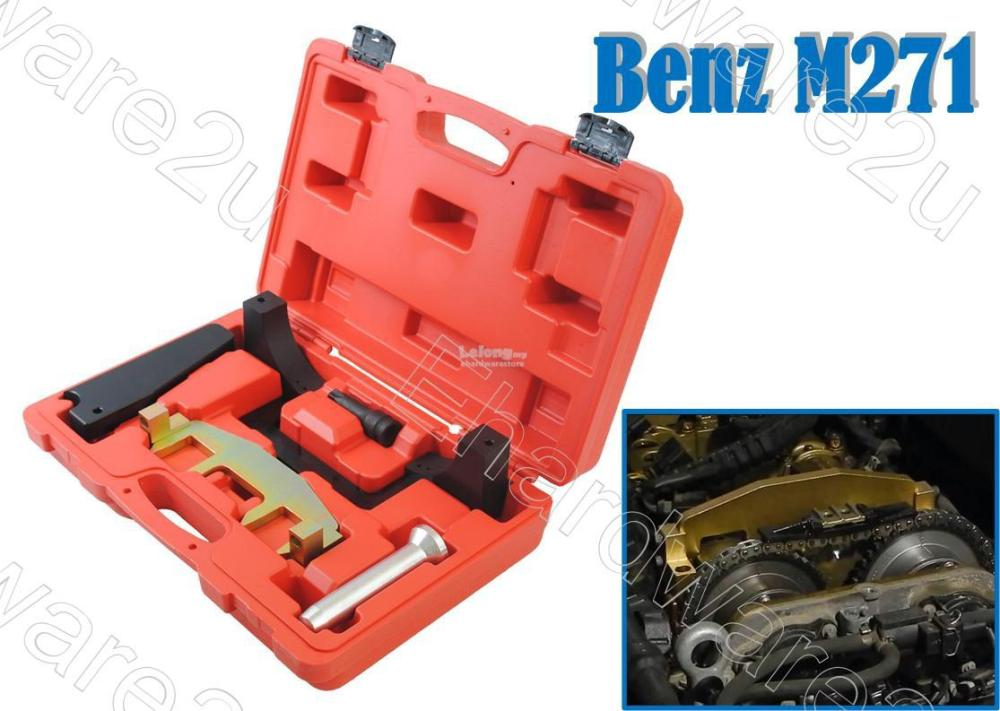 medium resolution of mercedes benz m271 camshaft alignment timing chain fixture tool 1555b