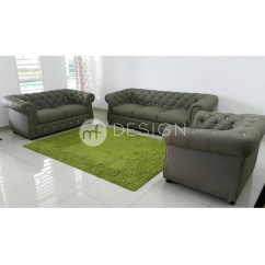 Sofa In Malaysia Second Hand Corner Bed Liverpool Chesterfield Murah Brokeasshome