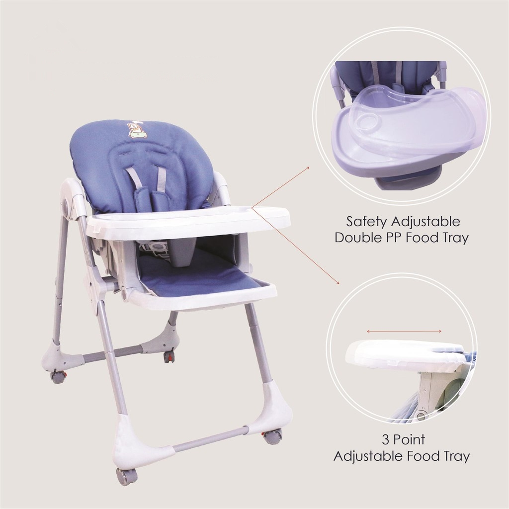 Baby Food Chair Multifunction Baby Dining High Chair