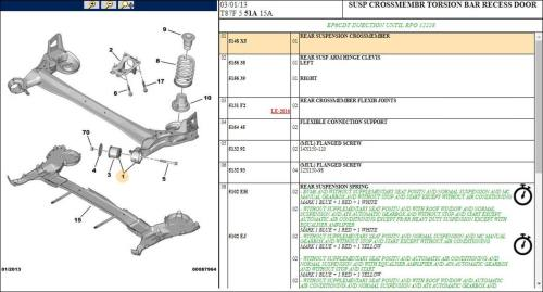 small resolution of peugeot 5008 rear suspension crossmember
