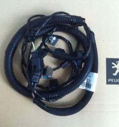 peugeot 508 rear bumper wire harness [ 1080 x 807 Pixel ]