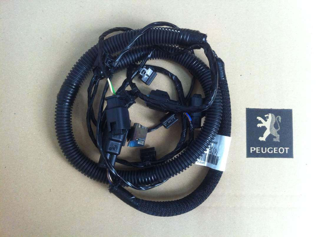 hight resolution of peugeot 508 rear bumper wire harness
