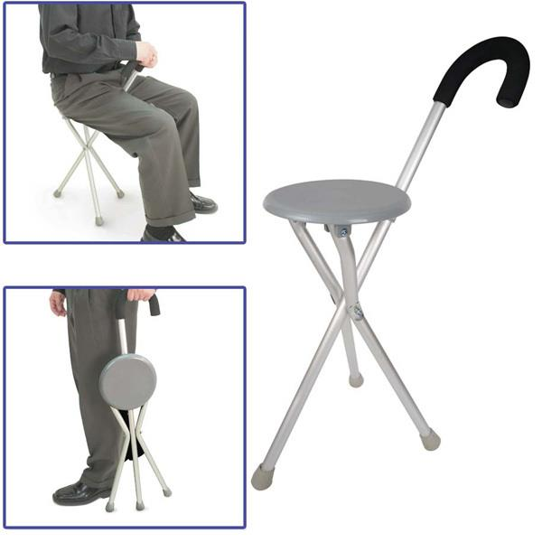 walking cane chair jenny lind rocking white portable folding foldable crutch can end 3 26 2020 2 09 am