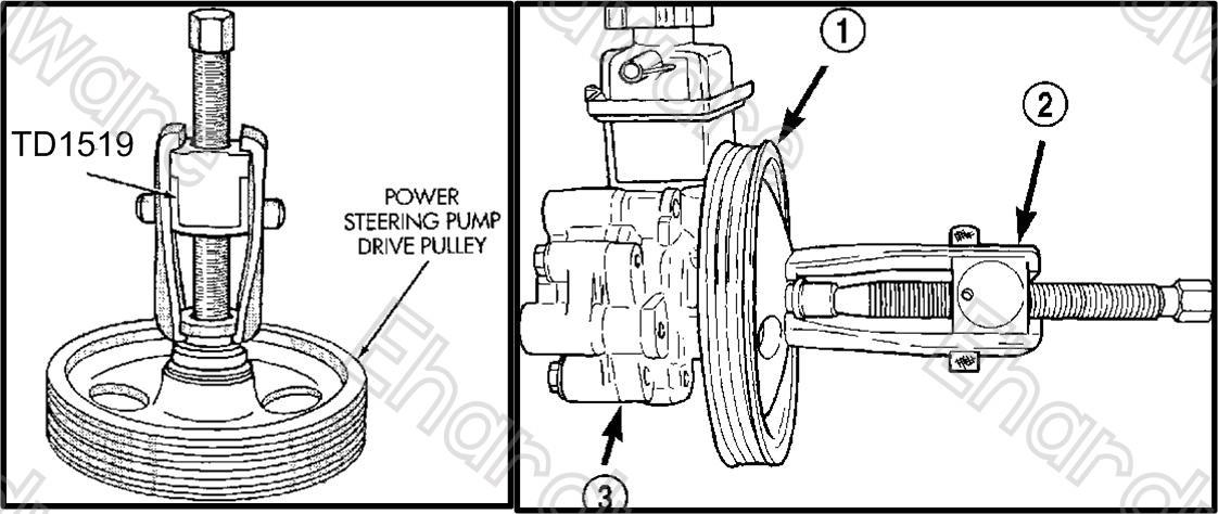 POWER STEERING PUMP ALTERNATOR PULL (end 8/18/2020 11:39 AM)