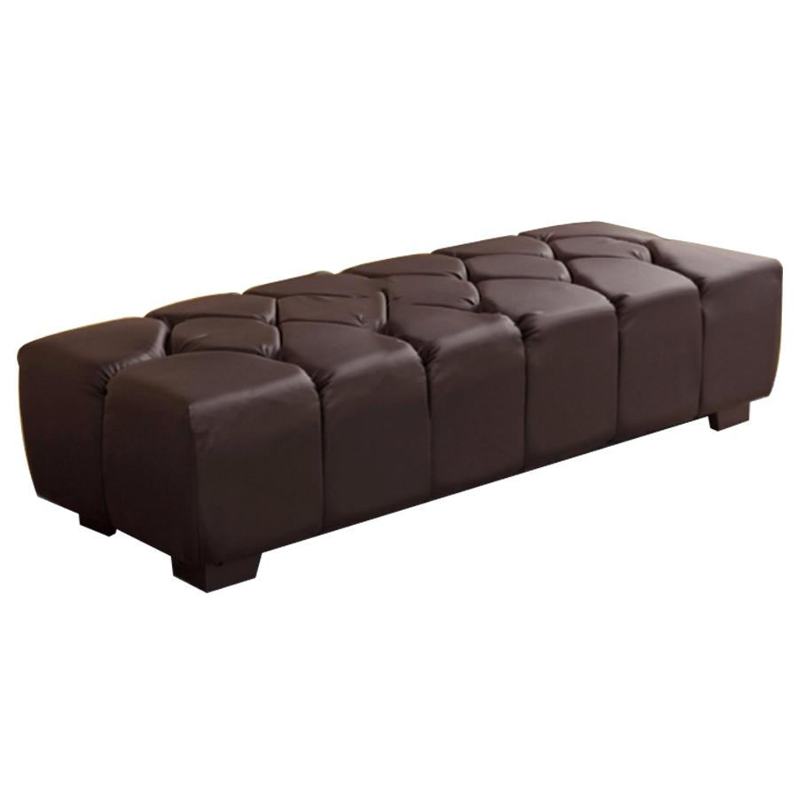 Leather Chairs With Ottoman Princess Leather Ottoman Sofa Stool Chair L1600mm X W D600mm X H400mm