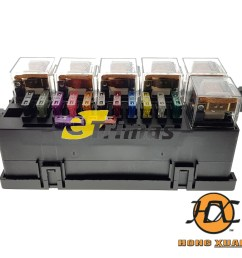 proton perodua toyota universal modify car blade main fuse box relay block [ 1000 x 980 Pixel ]