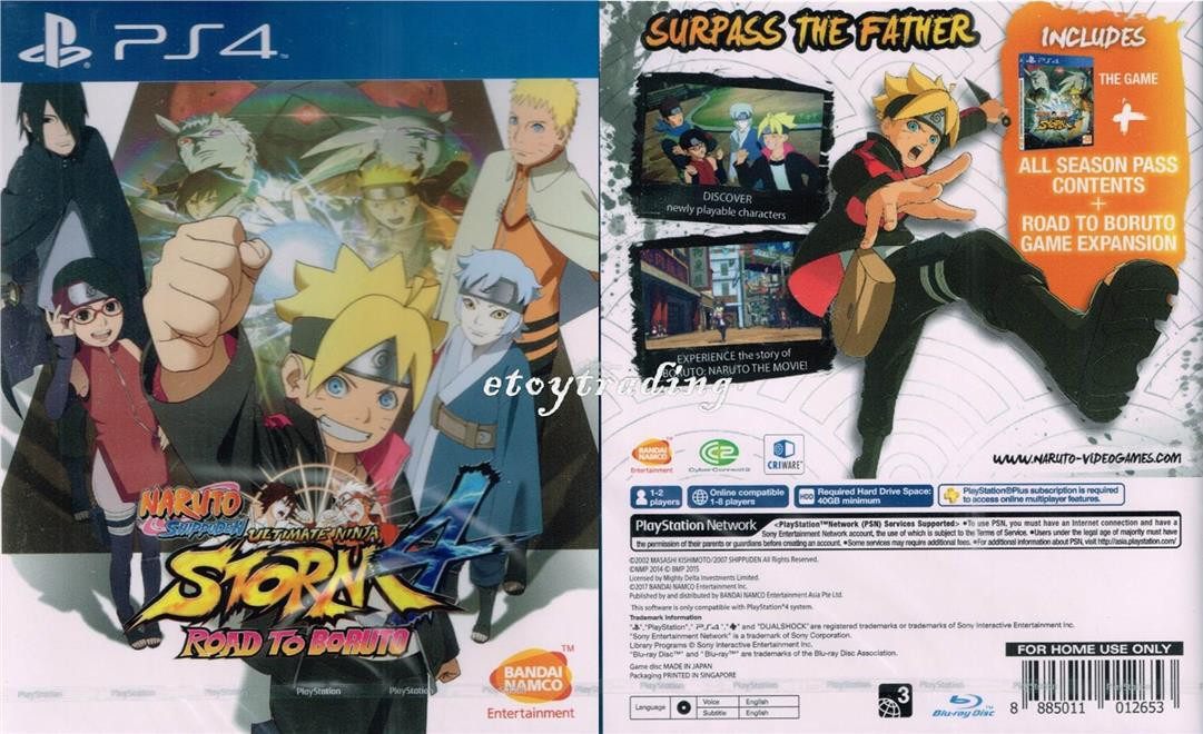 Ps4 Naruto Shippuden Storm 4 Road To End 5 4 2017 6 15 Pm
