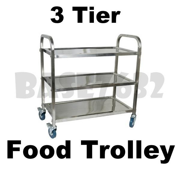 kitchen trolley cart window pass through restaurant dining 3 tier stainless s end 2 11 2019 6 38 pm steel food