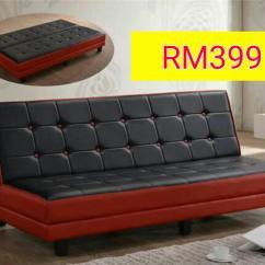 Sofa Bed Murah Malaysia 2018 Tufted Living Room Decor Klang Brokeasshome