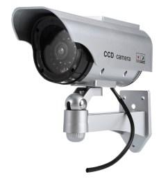 solar energy realistic dummy surveillance security cctv sticker camera flashin  [ 1000 x 1000 Pixel ]
