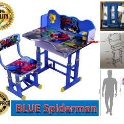 Spiderman Table And Chairs Chair Covers Gorey Co Wexford Study Kid Set Meja End 12 14 2020 00 Am Belajar