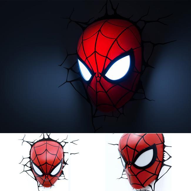 Superhero Spiderman (Head) 3D Wall L (end 4/23/2016 5:37 PM)