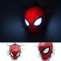 Superhero Spiderman (Head) 3D Wall L (end 4/23/2016 5:37 PM)