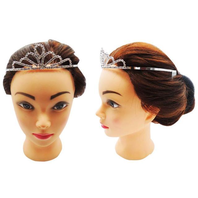 toprank cute children kids girls rhinestone princess hair band crown h