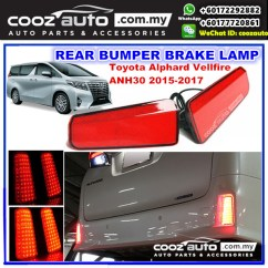 All New Vellfire 2020 Kredit Grand Avanza 2018 Toyota Alphard Anh30 2015 2 End 12 14 Pm 2017 Led Rear Bumper Reflector Brake Lamp