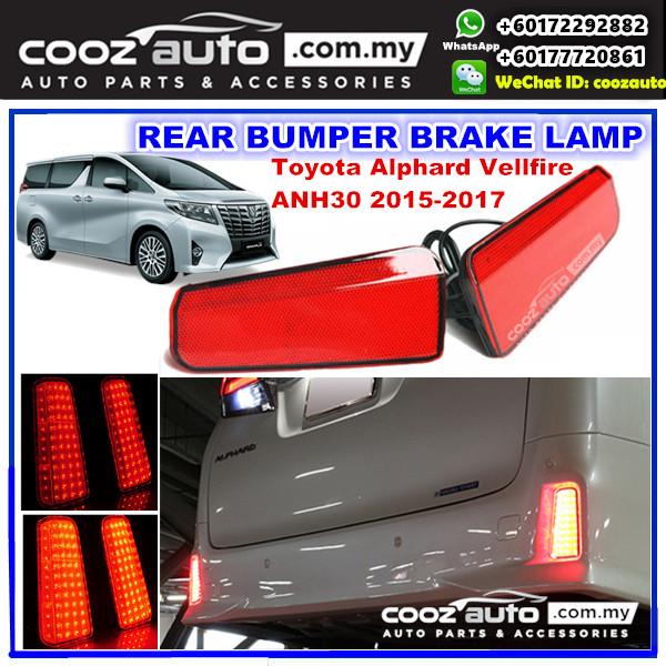 all new vellfire 2020 grand avanza vs veloz toyota alphard anh30 2015 2 end 12 14 pm 2017 led rear bumper reflector brake lamp
