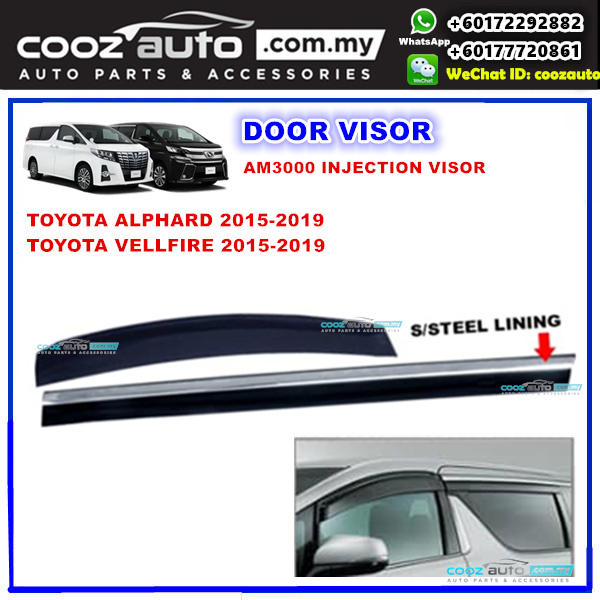 all new alphard 2021 modifikasi grand avanza hitam toyota vellfire anh30 2015 end 7 6 12 00 am 2019 window door visor with s ste